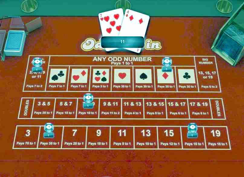 An online gambling game called Odd One In